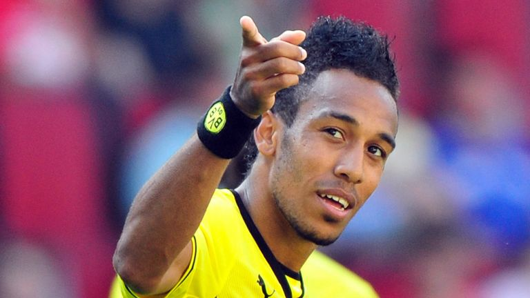 Pierre-Emerick Aubameyang: Scored twice in Borussia Dortmund win