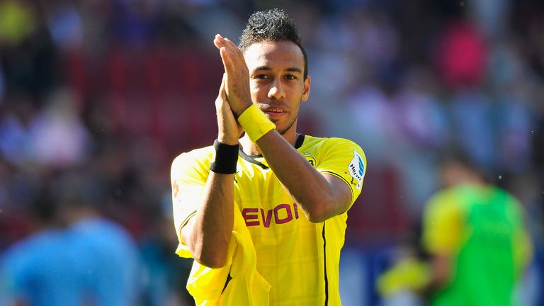 Pierre-Emerick Aubameyang: Scored a hat-trick on his debut