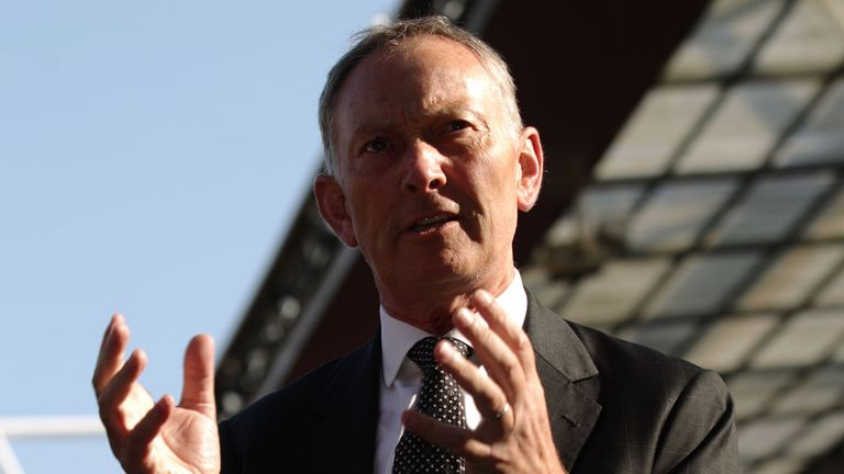 Richard Scudamore: Declined to take a seat on FA Commission