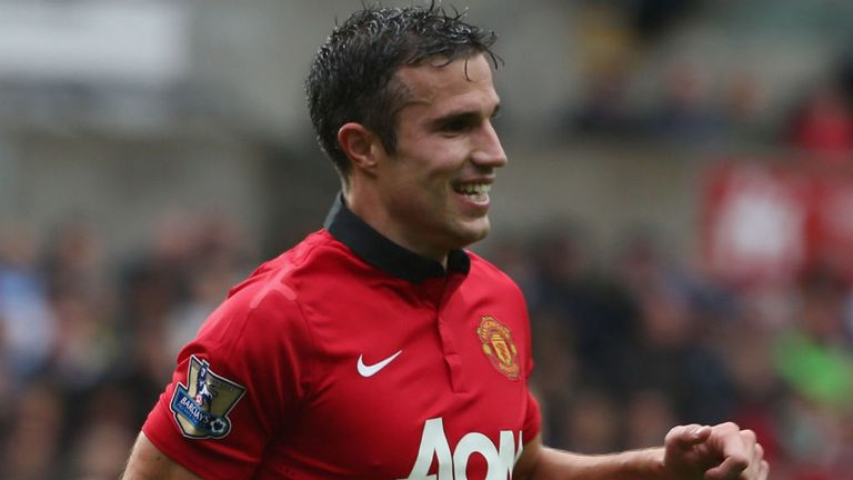 Robin van Persie: On target twice in Manchester United's 4-1 win over Swansea