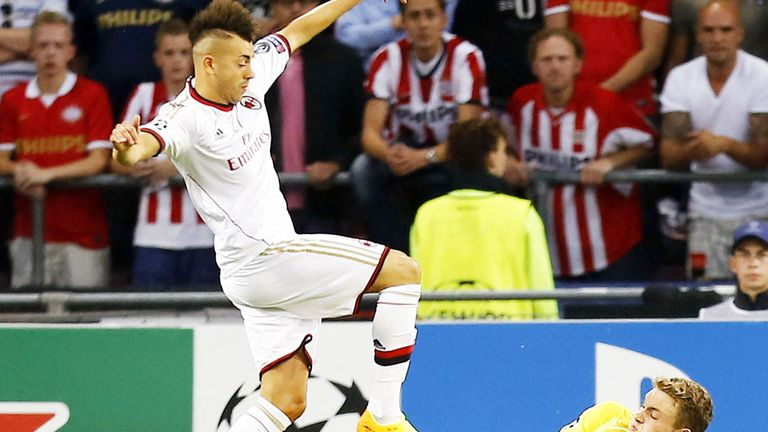 Stephan El Shaarawy: AC Milan striker aims to be back in early November