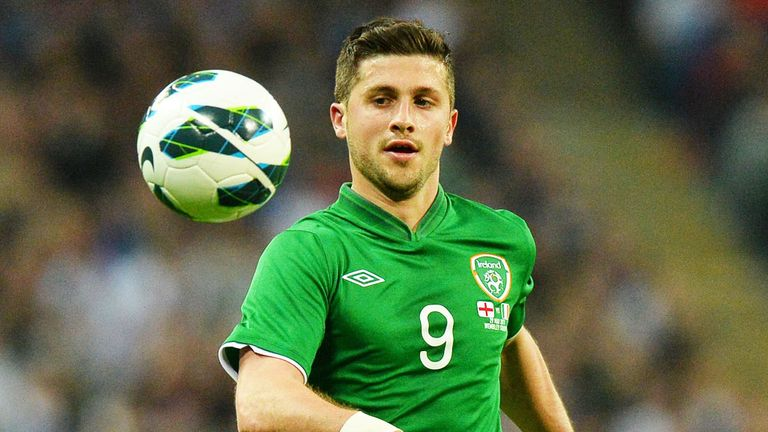 Shane Long will lead the line for the Republic of Ireland