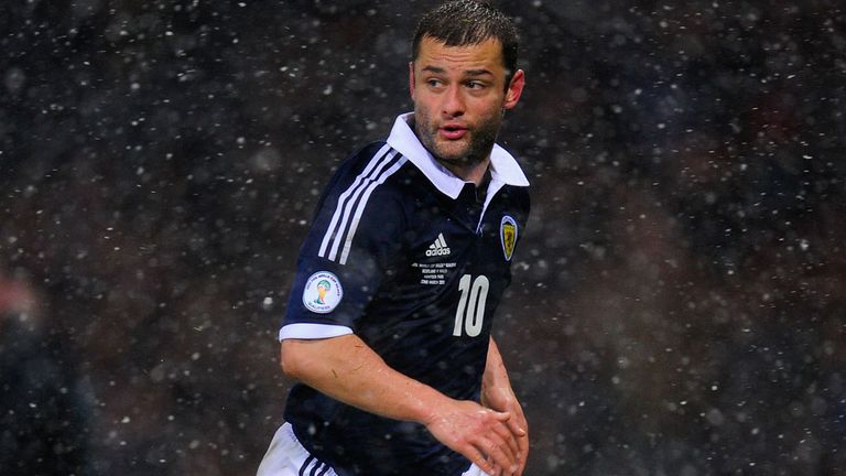 Shaun Maloney: Wigan winger back for Scotland
