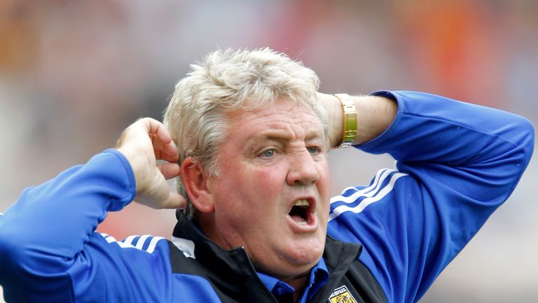 Steve Bruce: Hull City manager relieved