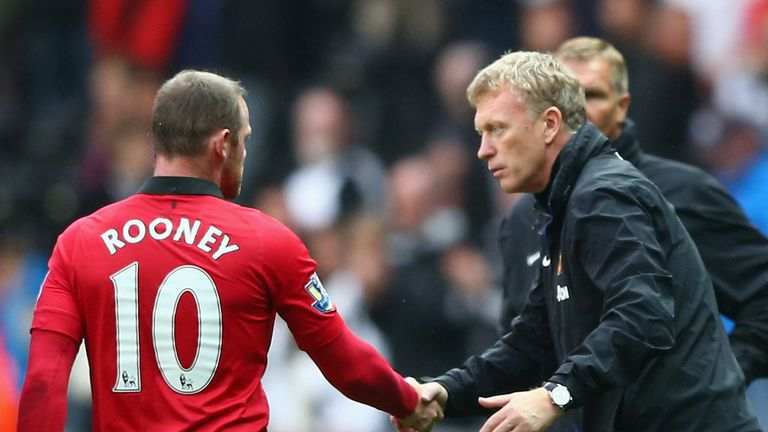 "Wayne Rooney: Comments from David Moyes left him ""angry and confused"""
