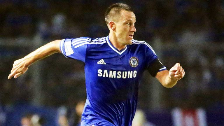 Terry: captained Chelsea to two Premier League titles
