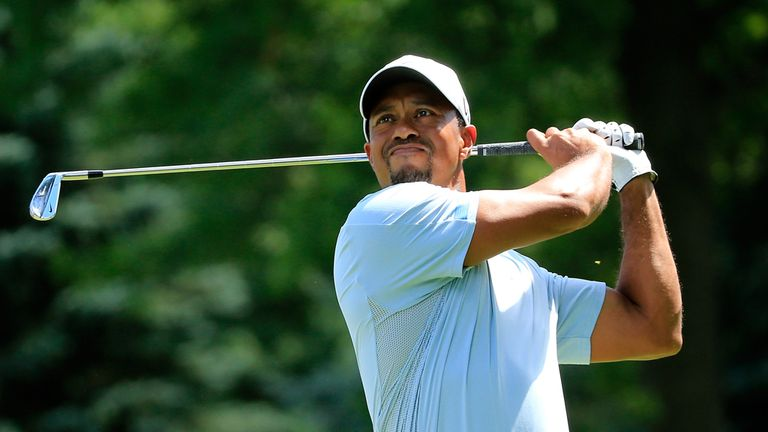 Tiger Woods: a heavy favourite to get the job done at Oak Hill Country Club