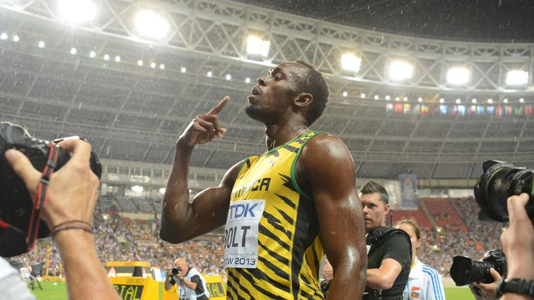 Usain Bolt: Back as world champion after being disqualified in South Korea two years ago