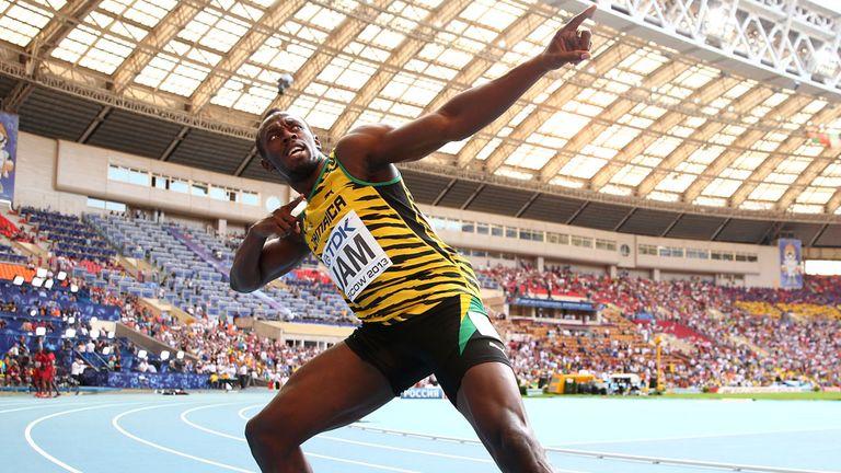 Usain Bolt triumphed in Zurich