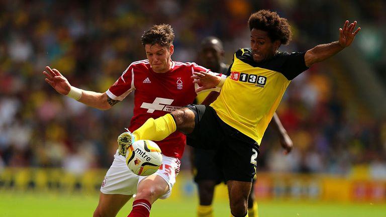 Ikechi Anya: Rounded off Watford's prolific goalscoring
