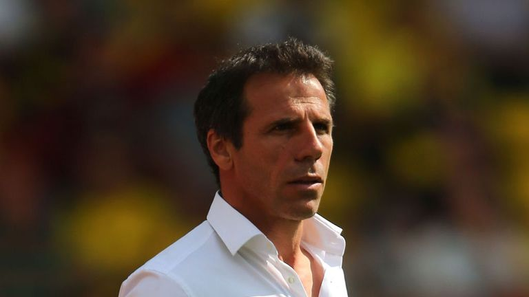 Gianfranco Zola: Full of praise for his side