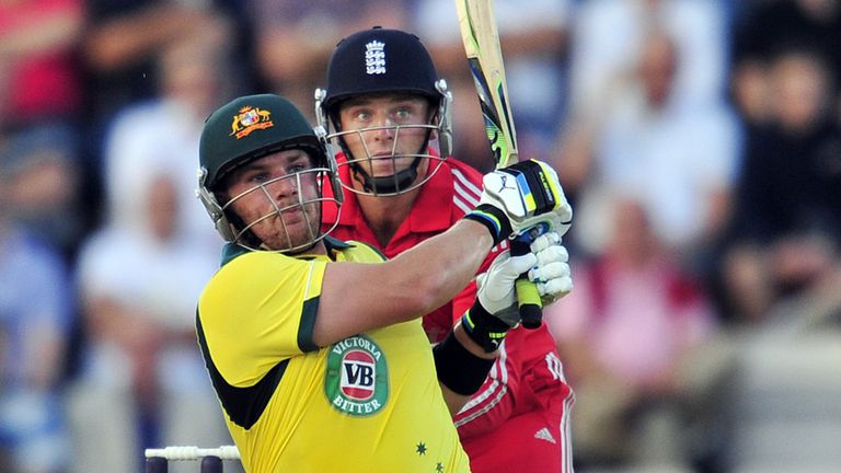 Aaron Finch: Cleared the ropes 14 times in swashbuckling century