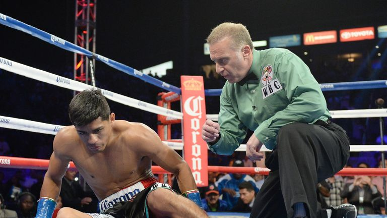 Abner Mares: Lost WBC title and unbeaten record after being stopped in first round