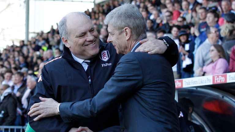Martin Jol: Fulham boss feels Arsene Wenger's men are better away from home