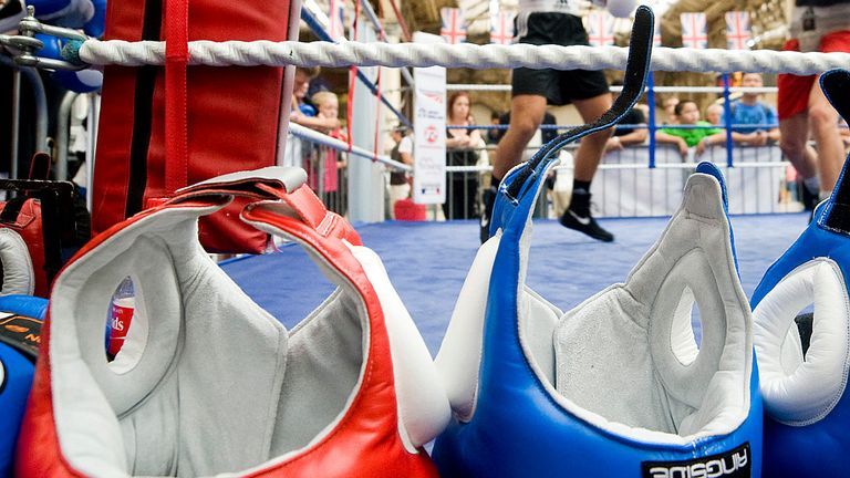 Sidelined: Head-guards will not be used at this month's World Championships