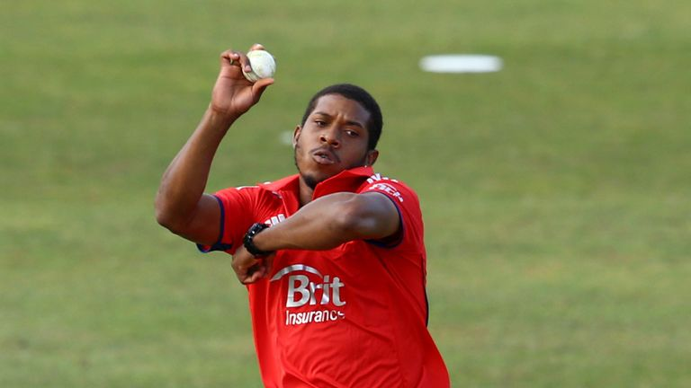 Chris Jordan: Makes the step up from England Lions to the senior squad