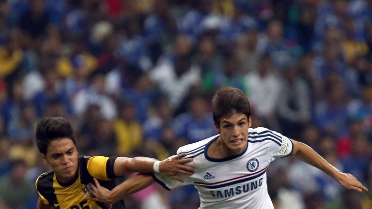 Lucas Piazon: Enjoying loan spell but eager to make an impact at Chelsea