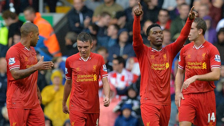 Daniel Sturridge found the net for Liverpool but other chances went begging
