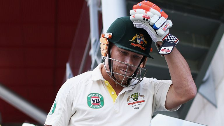 David Warner has come in for some serious criticism