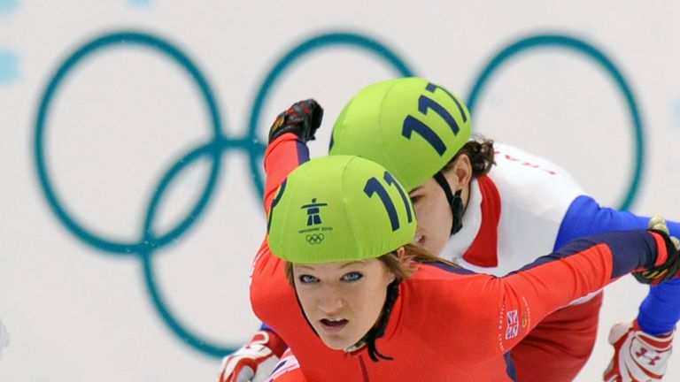 Elise Christie: Will now compete in the quarter-finals of the 500m, 1000m and 1500m in Shanghai