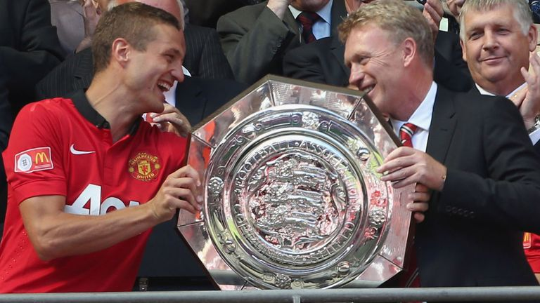 David Moyes: Has urged Nemanja Vidic to fight for his place