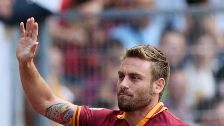 Daniele De Rossi: Linked with move to Manchester United in the summer