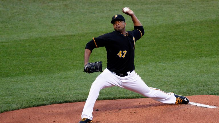Francisco Liriano: Tossed eight shut-out innings against St Louis Cardinals at PNC Park