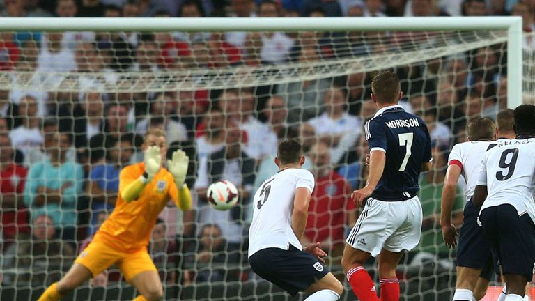 Joe Hart: Will be watched after mistake against Scotland