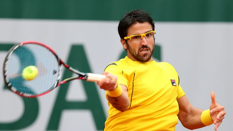 Janko Tipsarevic: Doubt for Davis Cup final