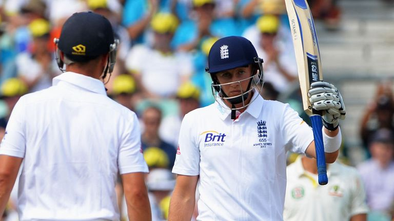 Joe Root passes 50 for the first time since his big century at Lord's