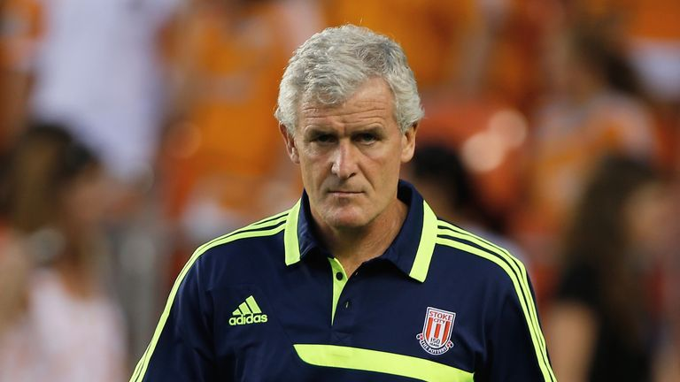 Mark Hughes: Promising more excitement for Stoke fans