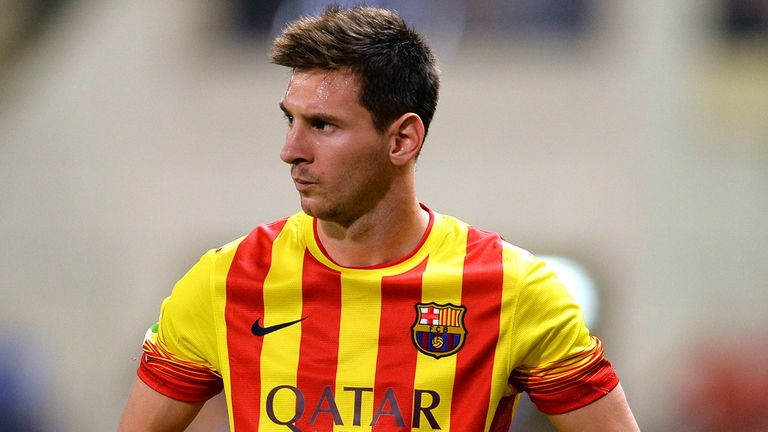 Lionel Messi: Injured in Spanish Super Cup first leg against Atletico