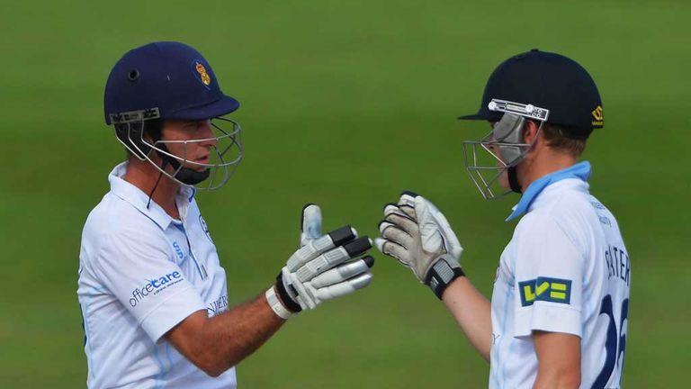 Wayne Madsen and Ben Slater, Derbyshire's match-winners at Hove