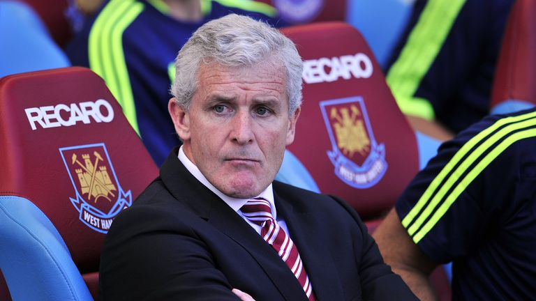 Mark Hughes: Stoke boss looking forward to facing Manchester City