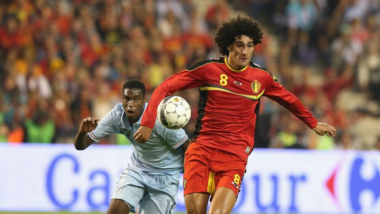 Marouane Fellaini: Available for Belgium on Friday