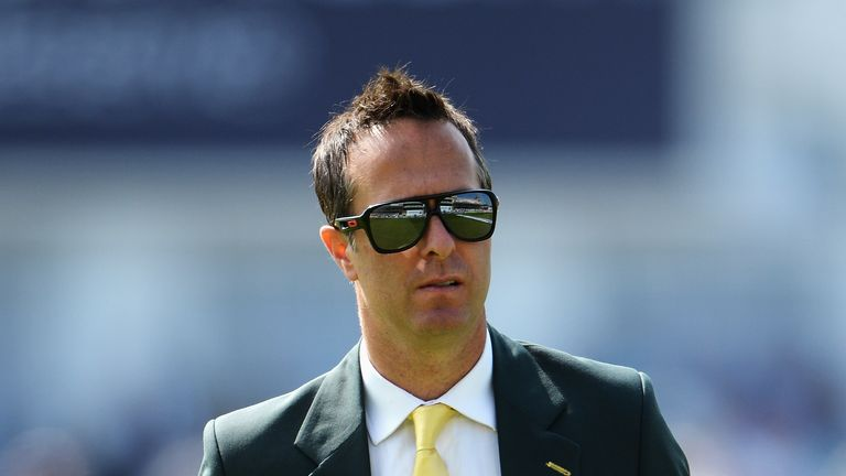 Michael Vaughan: captained England to Ashes win in 2005
