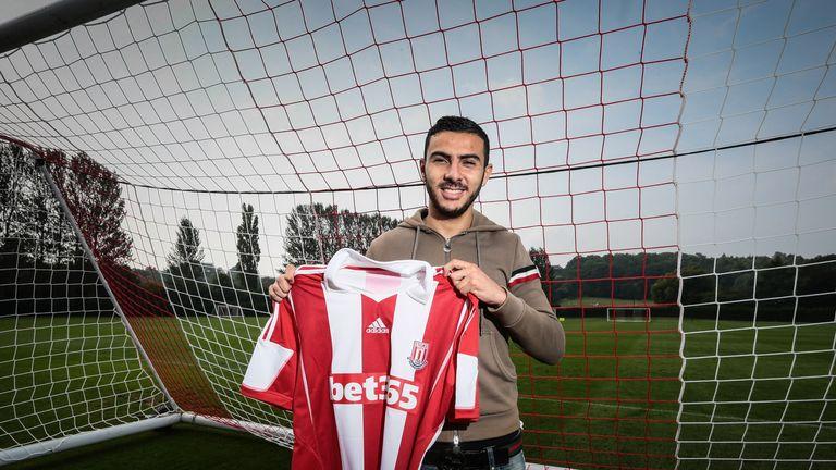 Oussama Assaidi: Has joined Stoke on loan. Credit: stokecityfc.com