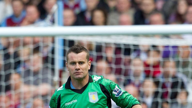 Shay Given: Aston Villa goalkeeper is on loan with Middlesbrough