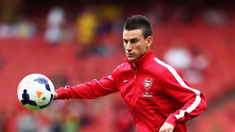 Laurent Koscielny: Arsenal hopeful his absence won't be a long one