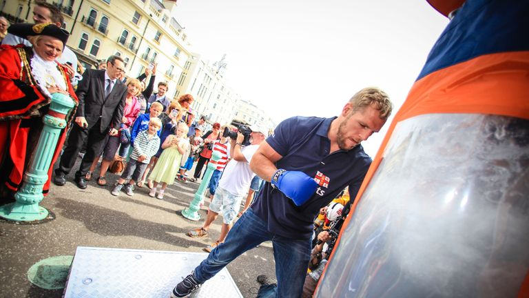 Respect the Water - England Rugby star James Haskell launches the RNLI campaign