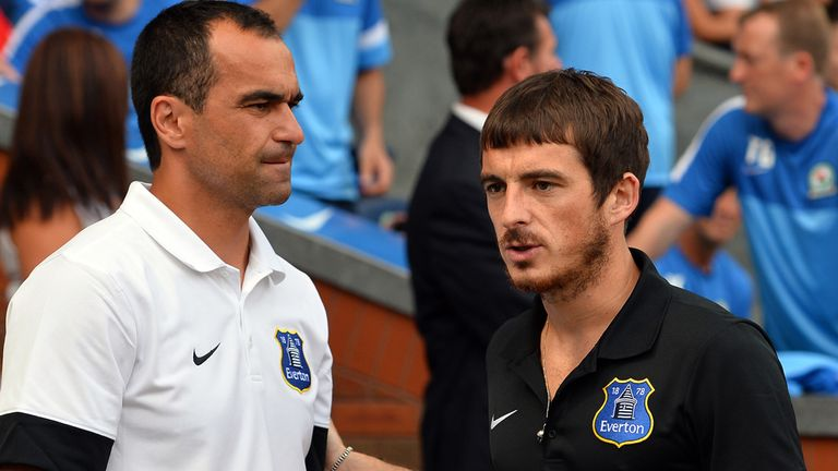 Roberto Martinez: Praise for Toffees hero Baines