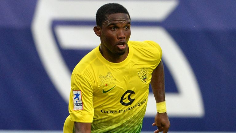 Samuel Eto'o: Linked with moves to Inter Milan & Chelsea