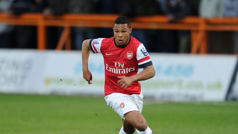 Serge Gnabry: Has impressed since breaking into the first team at Arsenal