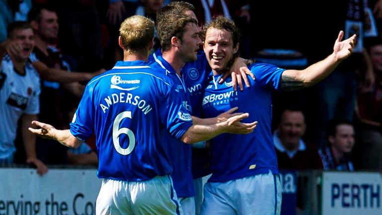 Stevie May (right): Target for Peterborough