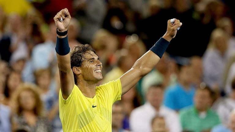 Rafael Nadal: Claimed his ninth title of the season in Cincinnati