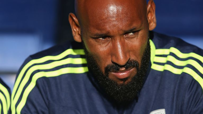Nicolas Anelka: Set to return against Swansea