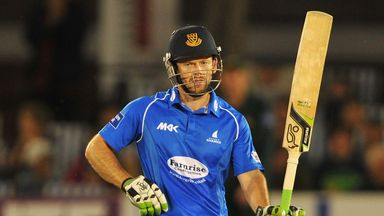 Ed Joyce: Sussex captain led by example under Hove floodlights