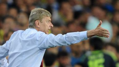 Arsene Wenger: a few anxious moments in Turkey on Wednesday night