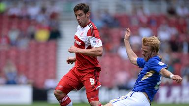 Lukas Jutkiewicz: Loan move to Bolton for Boro striker