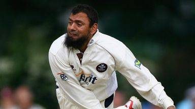 Former Surrey off-spinner Saqlain Mushtaq took 208 wickets in 49 Tests for Pakistan